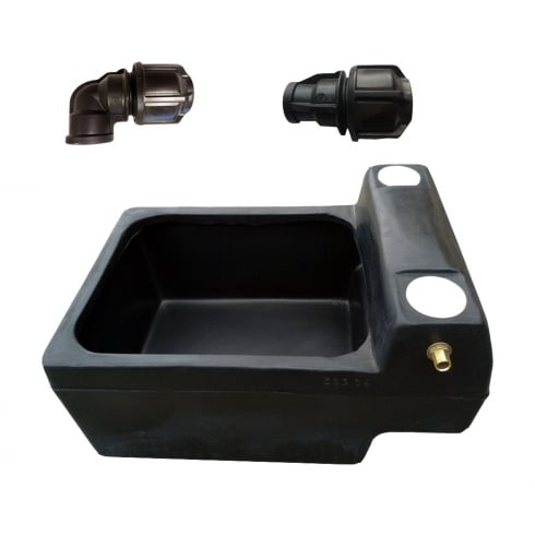 Titan Horse Drinker 12 Gallon/54 Lt Drinking Trough plus fittings