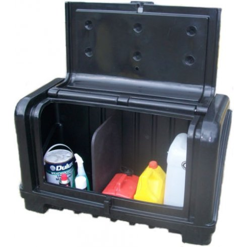 Titan Inside and Outside Storage Compartment Tool Box