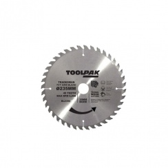 TOOLPAK 235MM CROSS CUT BLADE 40TOOTH BL235C