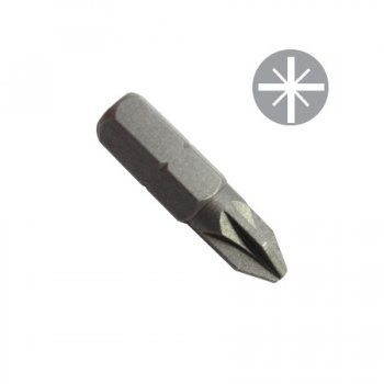 TOOLPAK POZI BIT NO 2X25MM 3 IN A PACK