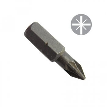 TOOLPAK POZI BIT NO PH 1X25MM 3 IN A PACK