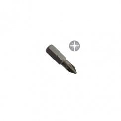 Toolpak Screwdriver Pozi Bit No Ph 1 x 25mm (Pack of 3) PZ1S25