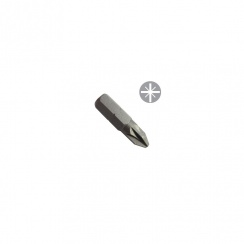 Toolpak Screwdriver Pozi Bits No 2 x 25mm (Pack of 3) PZ2S25