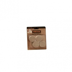 "TROJAN FELT PAD SHEET 11/2"" 8PC TF10"