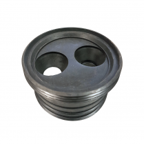 110MM X32/40MM RUBBER WASTE ADAPTOR PLUG 4""