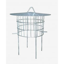 Chimney Bird Cage Guard With Rain Cap and Anti-Down Draught Fire Roof Cowl