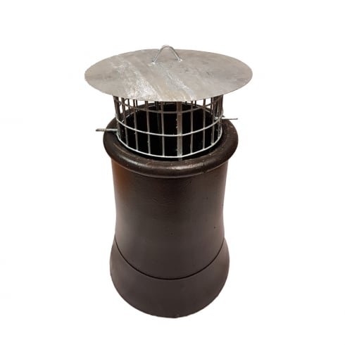 Ultra Chimney Bird Cage Guard With Rain Cap and Anti-Down Draught Fire Roof Cowl