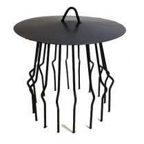 Chimney Bird Cage Guard With Rain Cap Anti-Down Draught Fire Roof Cowl