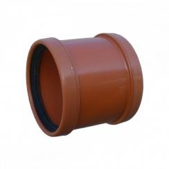 100mm Underground Drainage Double Socket Repair Collar