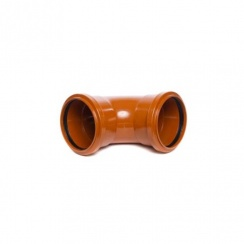 110mm Underground Drainage 90 Degree Double Socket Knuckle Bend