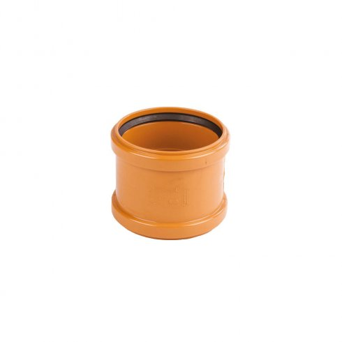 Wavin 110mm Underground Drainage Double Socket Pipe Coupler