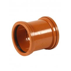 110mm Underground Drainage Straight Repair Coupler