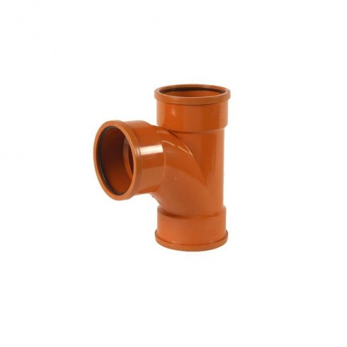 160mm Underground Drainage 87.5° triple equal Junction