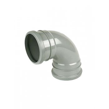 Wavin Soil Pipe Bend 92.5DEG D/S (GREY)
