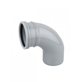 Wavin SOIL PIPE BEND 92.5DEG S/S (GREY)