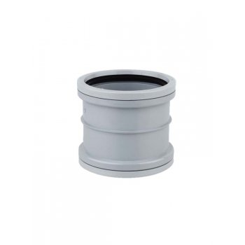SOIL PIPE CONNECTOR (GREY)