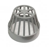 "Soil Vent Terminal 110mm (4"") GREY"
