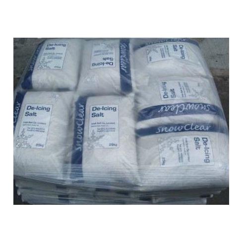 Wilsons Snowclear De-Icing Salt 25kg (Pallet of 42 Bags)