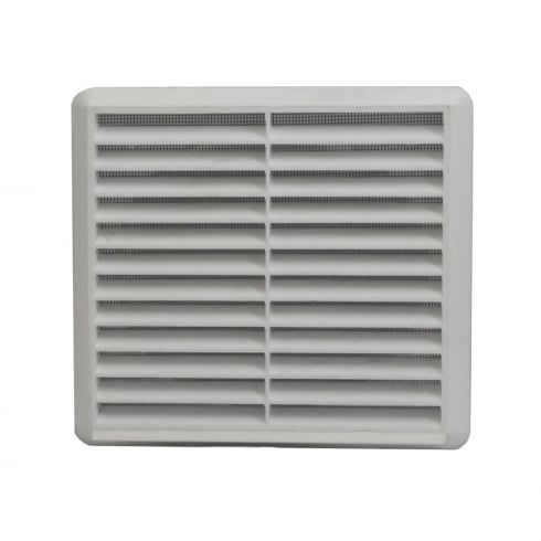 YDS 150mm White Louvre Vent 275