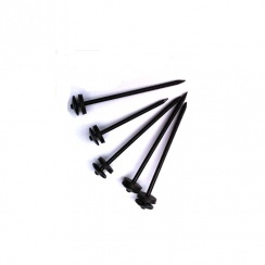 Black Roofing Nails 75mm (10Kg Box)