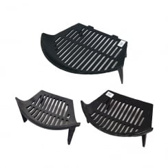 Cast Iron Stool Fire Grate (3 Sizes)