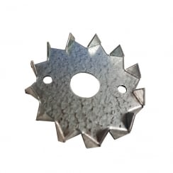 Dog Tooth Washers (Round Toothed) 50mm