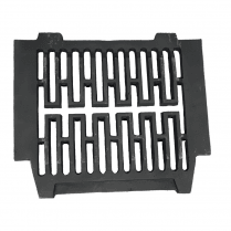 "Gerkros Cast Iron Bottom Fire Grate for 18"" Fireplace Opening"