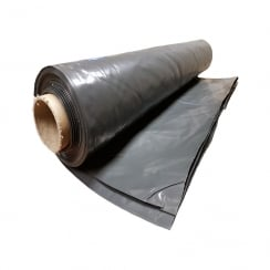 Heavy Duty Polythene Plastic sheeting 4M* wide DPM rolls 300MU 1200 Gauge