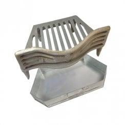 "Joyce Fire Grate,Coal Guard and Ashpan for 16"" Fireplace Opening"
