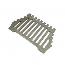 Queenstar 18 Inch Cast Iron Fire Grate (Bottom Grate) - Flat / No Legs