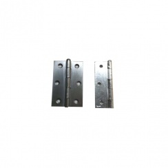 100MM SATIN CHROME L/PIN HINGE (PAIR) 1840