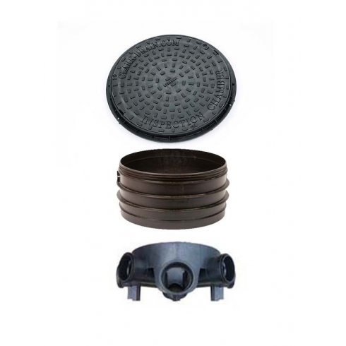Your DIY Shop 110mm/450mm Inspection Chamber, Riser and Lid (options available)