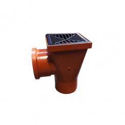 110mm Back Gully Inlet Hopper