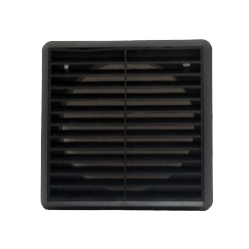 Your Diy Shop 150mm Black Louvre Vent 275