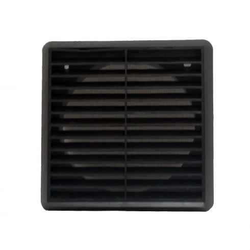 Your DIY Shop 150mm Black Louvre Vent 275