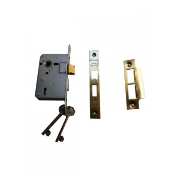"Your Diy Shop 2 1/2 "" Standard 3 Lever Bronze Mortice Lock"