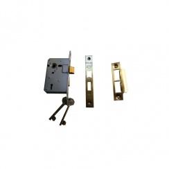 """2 1/2 """" Standard 3 Lever Bronze Mortice Lock"""