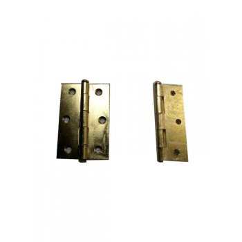"Your Diy Shop 3 1/2"" Brass Loose Pin Hinges ( Pair )"