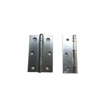 "Your Diy Shop 3 1/2"" Chrome Loose Pin Hinges ( Pair )"