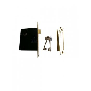 "Your Diy Shop 3"" Standard 3 Lever Brass Mortice Lock"