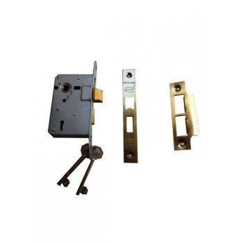 """Your Diy Shop 3"""" Standard 3 Lever Bronze Mortice Lock"""