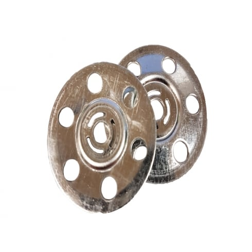 Your Diy Shop 35mm Metal Insulation Discs Washers Wall and Ceiling Fixings Plasterboard