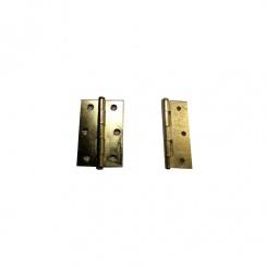 90mm Brass Loose Pin Hinges ( Pair )