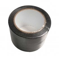Black PVC Builders Tape/ Silage Tape  75mm X 33m