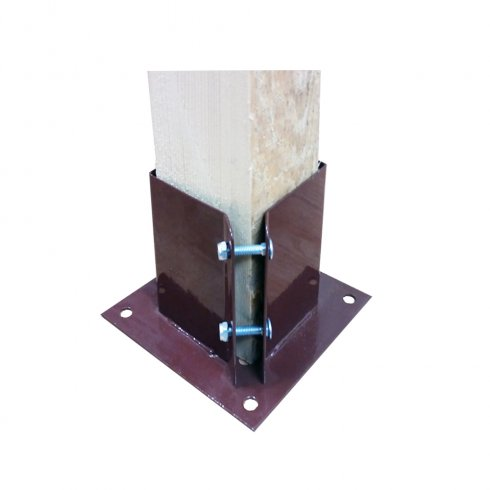 """Your DIY Shop Bolt Down Post Support (75mm (3"""") or 100mm(4""""))"""