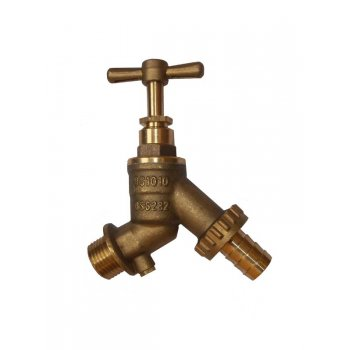 "Your Diy Shop BRASS 1/2"" OUTSIDE TAP NON-RETURN"