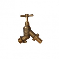 "Brass 3/4"" Outside Water Tap"