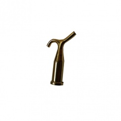 Brass Hook End for Pole - Attic Door Release