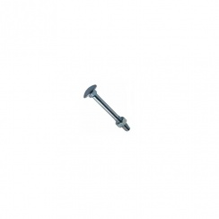 BZP 140XM12 WOOD CUP SQUARE BOLT