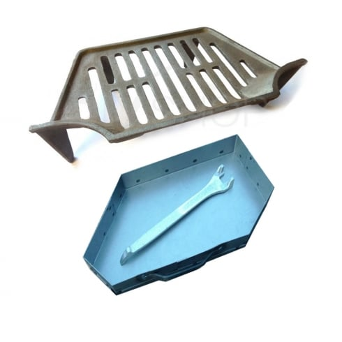 Your DIY Shop Classic Guardette Grate, Ashpan and Lifting Tool (2 Sizes Available)